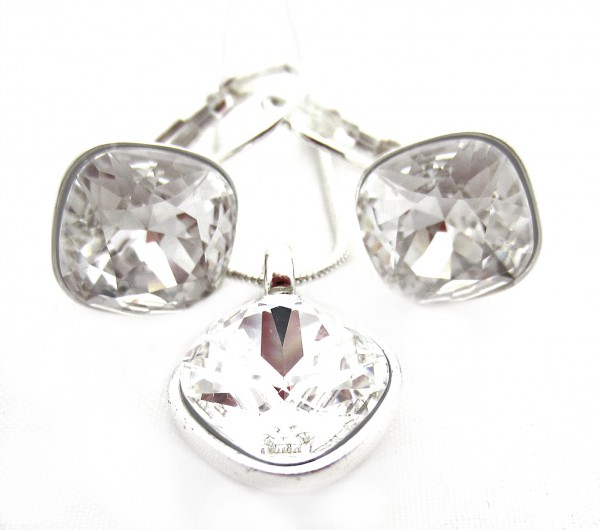 Set Swarovski elements fancy stone black diamond FA16983 (3)