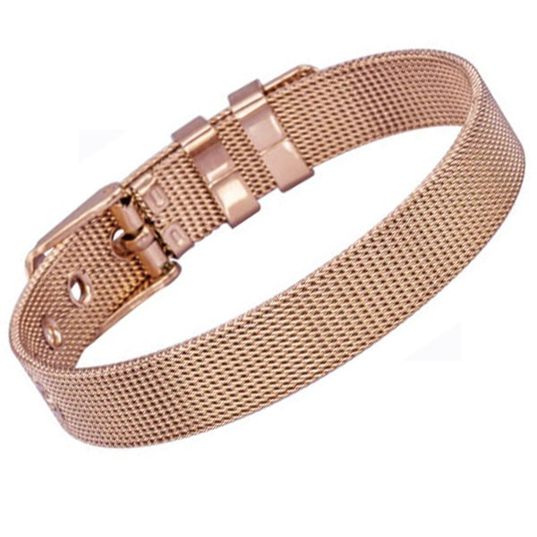 Náramek Tribal BSS349 rose gold 21,5cm