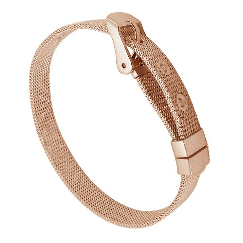 Náramek Tribal BRM240 rose gold 19,5cm